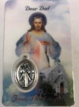 DIVINE MERCY DEAR DAD PRAYER CARD