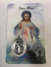 DIVINE MERCY DEAR MOTHER PRAYER CARD