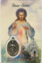 DIVINE MERCY DEAR SISTER PRAYER CARD