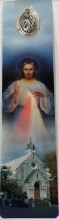 NATIONAL SHRINE OF DIVINE MERCY BOOKMARK WITH MEDAL