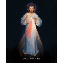 DIVINE MERCY VILNIUS 5X7 PRINT