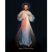 DIVINE MERCY VILNIUS PRINT 8X10