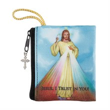 DIVINE MERCY ZIPPERED ROSARY CASE