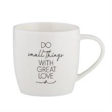 DO SMALL THINGS CAFE MUG