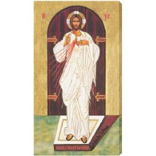 EASTERN ICON DIVINE MERCY 10X18 CANVAS GALLERY - WRAPPED PRINT
