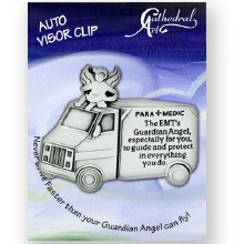 EMT'S GUARDIAN ANGEL VISOR CLIP