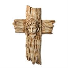 FACE OF CHRIST WALL CROSS