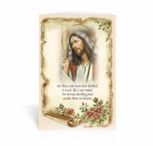 FOR THOSE WHO HAVE BEEN FAITHFUL SYMPATHY CARD