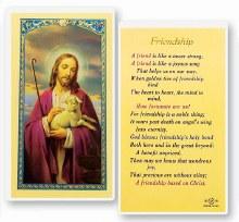 FRIENDSHIP-GOOD SHEPHERD PRAYER CARD