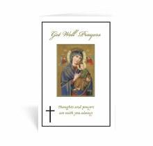 GET WELL PRAYERS CARD