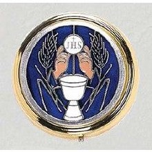 BLUE HOLY COMMUNION PYX