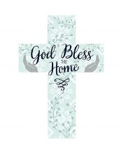 GOD BLESS THIS HOME CROSS
