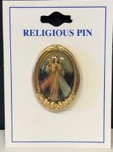 DIVINE MERCY FANCY LAPEL PIN
