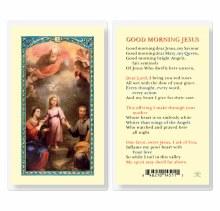 GOOD MORNING JESUS PRAYERCARD
