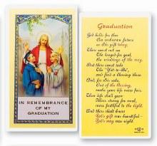 GRADUATION PRAYER CARD