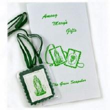 GREEN SCAPULAR & PAMPHLET