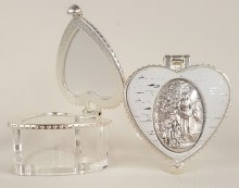 GUARDIAN ANGEL HEART SPAPED BOX