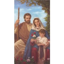 HOLY FAMILY CANVAS GALLERY WRAPPED PRINT