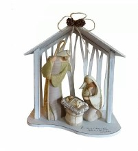 HOLY FAMILY CENTERPIECE 4PCSET