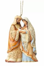 HOLY FAMILY ORNAMENT JIM SHORE