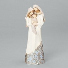 HOLY FAMILY STATUE 11""