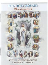 THE HOLY ROSARY BOOK ILLUSTRATED POCKET SIZE