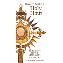 HOW TO MAKE A HOLY HOUR PAMPHLET