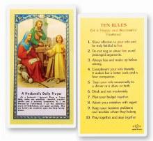 A HUSBAND'S DAILY PRAYERS