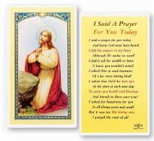 I SAID A PRAYER FOR YOU