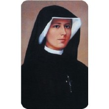 PRAYER TO OBTAIN GRACES THROUGH THE INTERCESSION OF ST FAUSTINA, WALLET SIZE