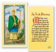 IRISH BLESSING ST PATRICK PRAYER CARD