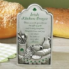 IRISH KITCHEN PRAYER PLAQUE