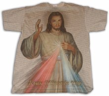 Divine Mercy T-Shirt Size Large