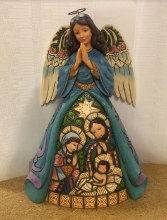 JIM SHORE NATIVITY ANGEL 9""