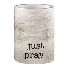 JUST PRAY LED CANDLE