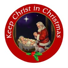 KEEP CHRIST IN CHRIST,AS AUTO MAGNET
