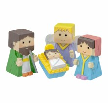 KIDS NATIVITY SET BLOCK PEOPLE