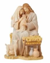 LAMB OF GOD HOLY FAMILY WITH LAMB