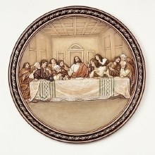 LAST SUPPER PLATE PLAQUE