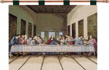 LAST SUPPER 36X26 WALL HANGING