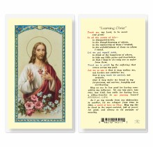 LEARNING CHRIST PRAYER CARD