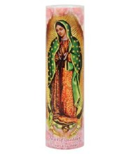 OUR LADY OF GUADALUPE LED CANDLE