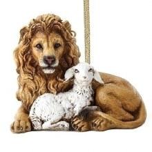 LION & LAMB ORNAMENT
