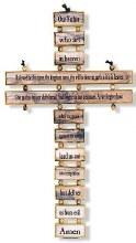 LORD'S PRAYER CROSS ENGLISH