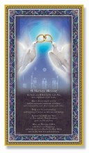 MARRIAGE BLESSING PLAQUE