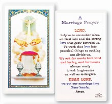 MARRIAGE PRAYER CARD