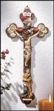 MARY/HOLY TRINITY CRUCIFIX