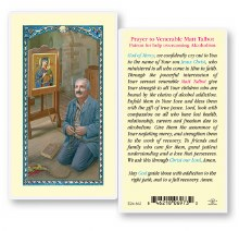 MATT TALBOT LAMINATED PRAYERCARD