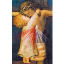 CONSOLING THE HEART OF JESUS PRAYERCARD