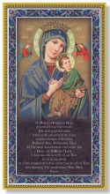 MOTHER OF PERPETUAL HELP PLAQUE